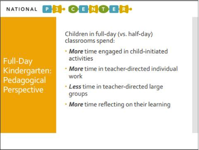 Full Day Kindergarten Is Great For Kids >> Why Full Day Kindergarten Is A Key Piece Of The Early Ed Puzzle