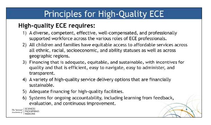 ece principles