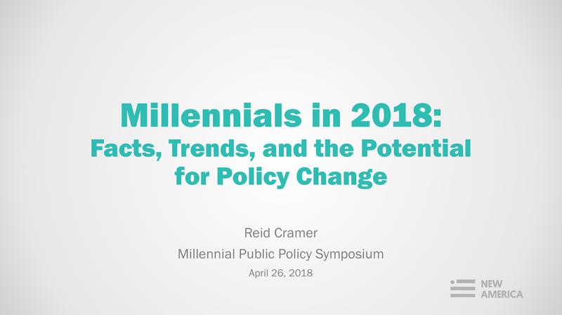 Millennials in 2018