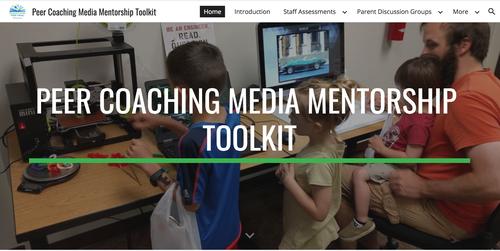 Cover of Peer Coaching Media Mentor Toolkit