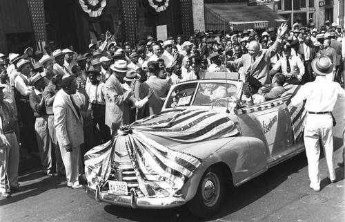 Eisenhower on Indiana Avenue
