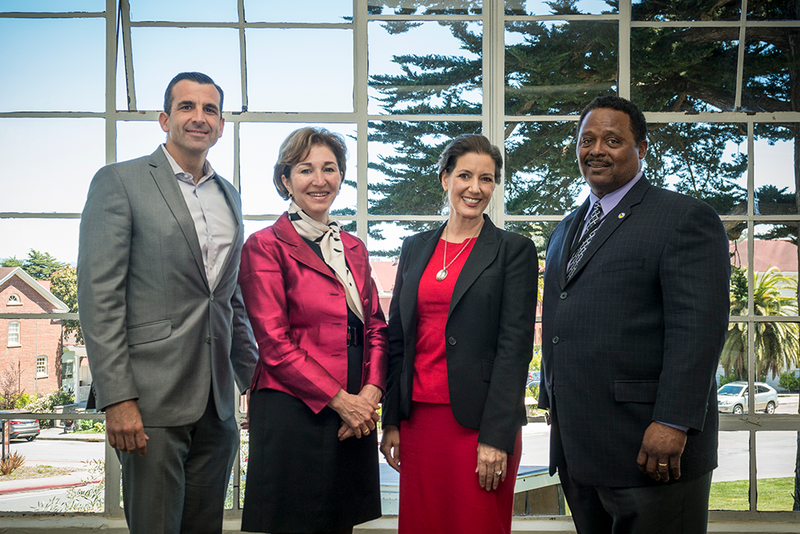 Anne Marie Slaughter and california mayors