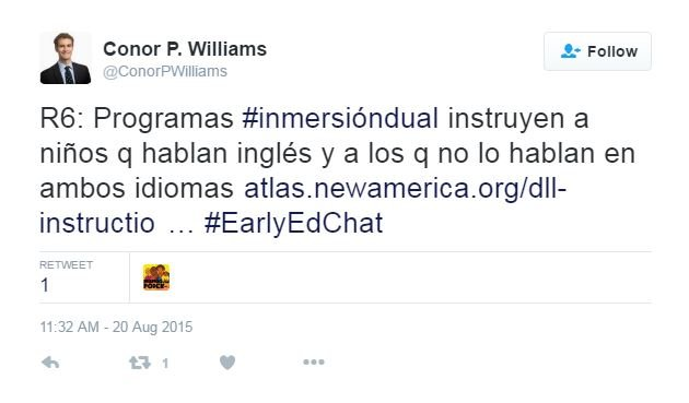 Answering Questions on Bilingual Education